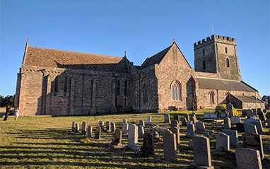 St Aidan's church Bamburgh