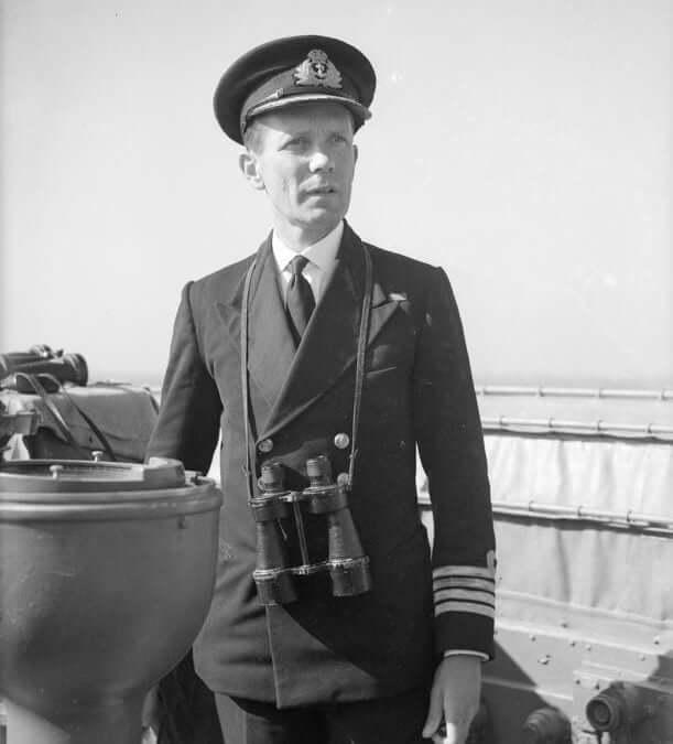 Capt. Joe Baker Cresswell July 1943, image courtesy IWM
